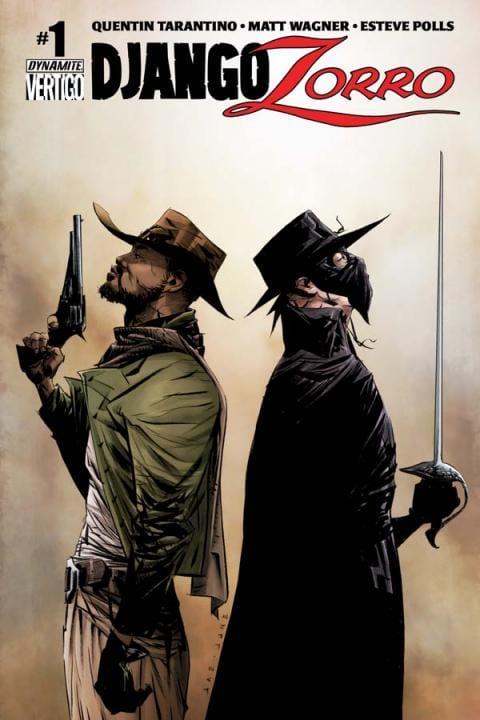 Comic completo Django/Zorro