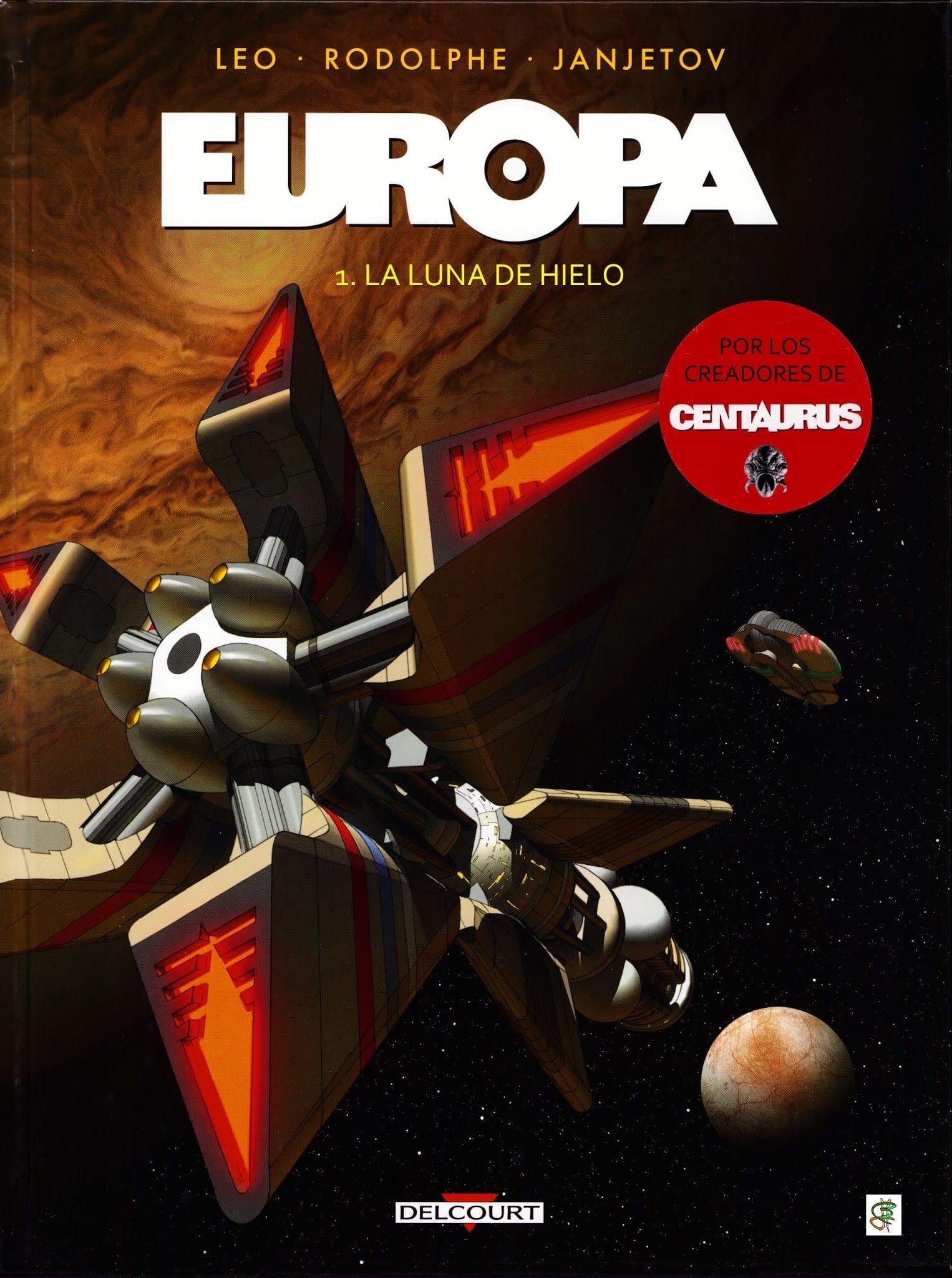 Comic completo Europa