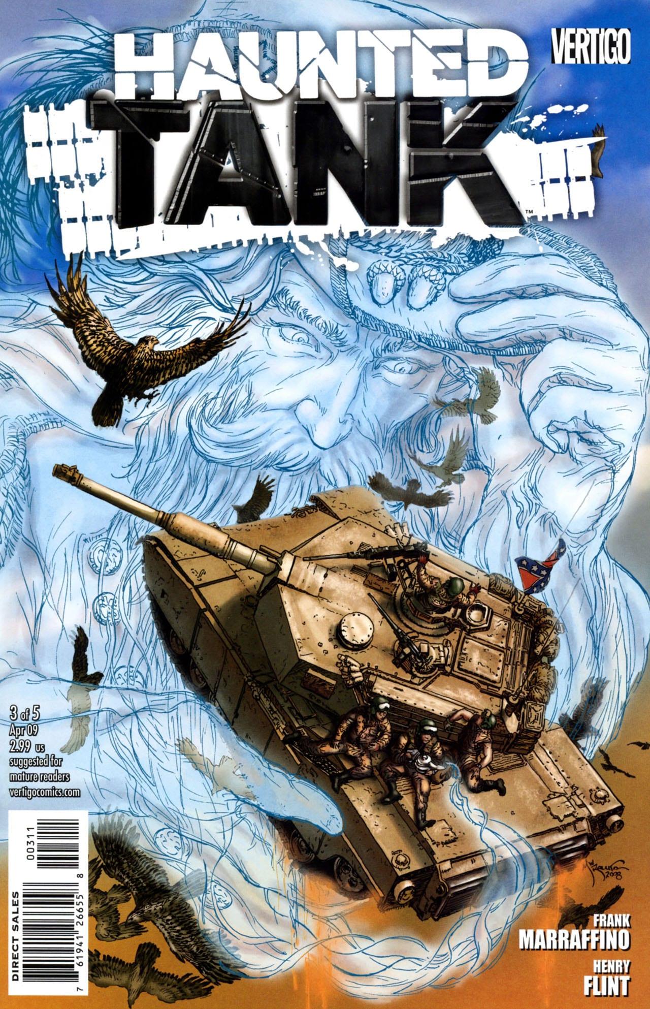 Comic completo Haunted Tank