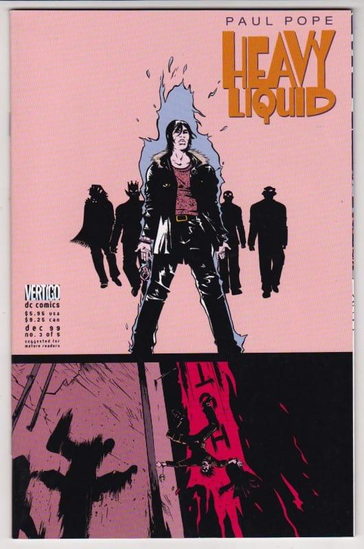 Comic completo Heavy Liquid