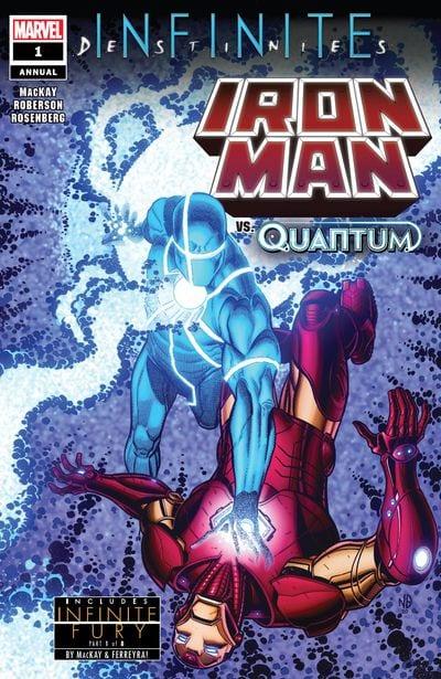 Comic completo Infinite Destinies: Iron Man anual #1