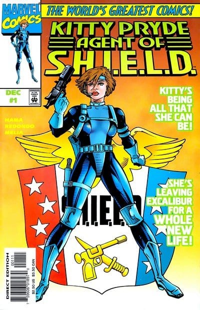 Comic completo Kitty Pryde: Agent of SHIELD