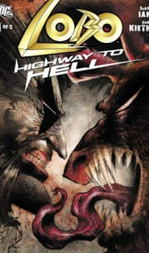 Comic completo Lobo: Highway to Hell