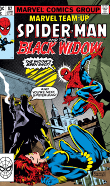 Comic completo Marvel Team-up: Spiderman and the Black Widow