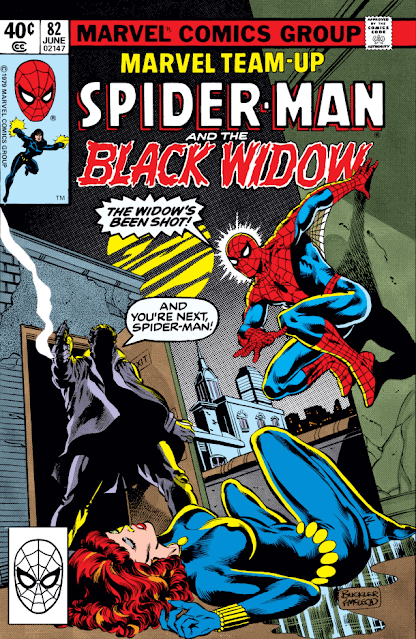 Descargar Marvel Team up Spiderman and the Black Widow comic