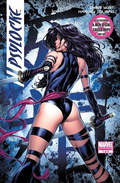 Comic completo Psylocke Volumen 1