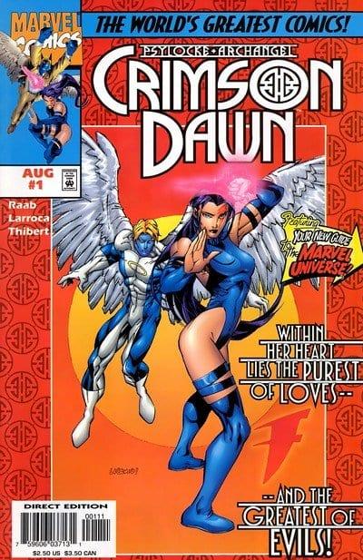 Comic completo Psylocke and Archangel: Crimson Dawn