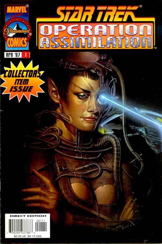 Descargar Star Trek Operation Assimilation comic