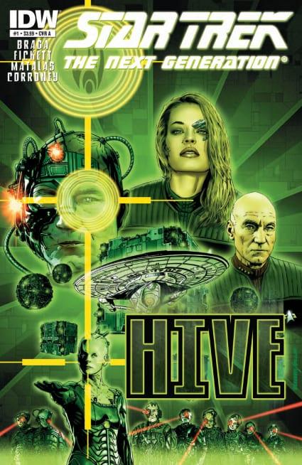 Descargar Star Trek The Next Generation Hive comic