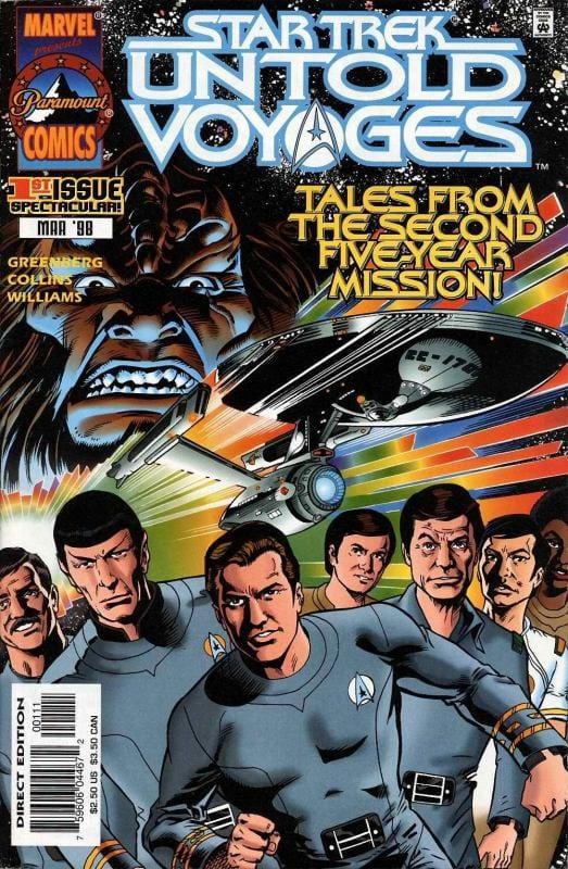 Descargar Star Trek Untold Voyages comic