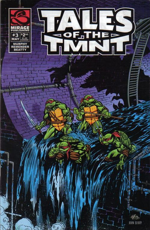 Comic completo Tales of The TMNT Volumen 2