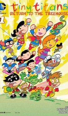 Comic completo Tiny Titans