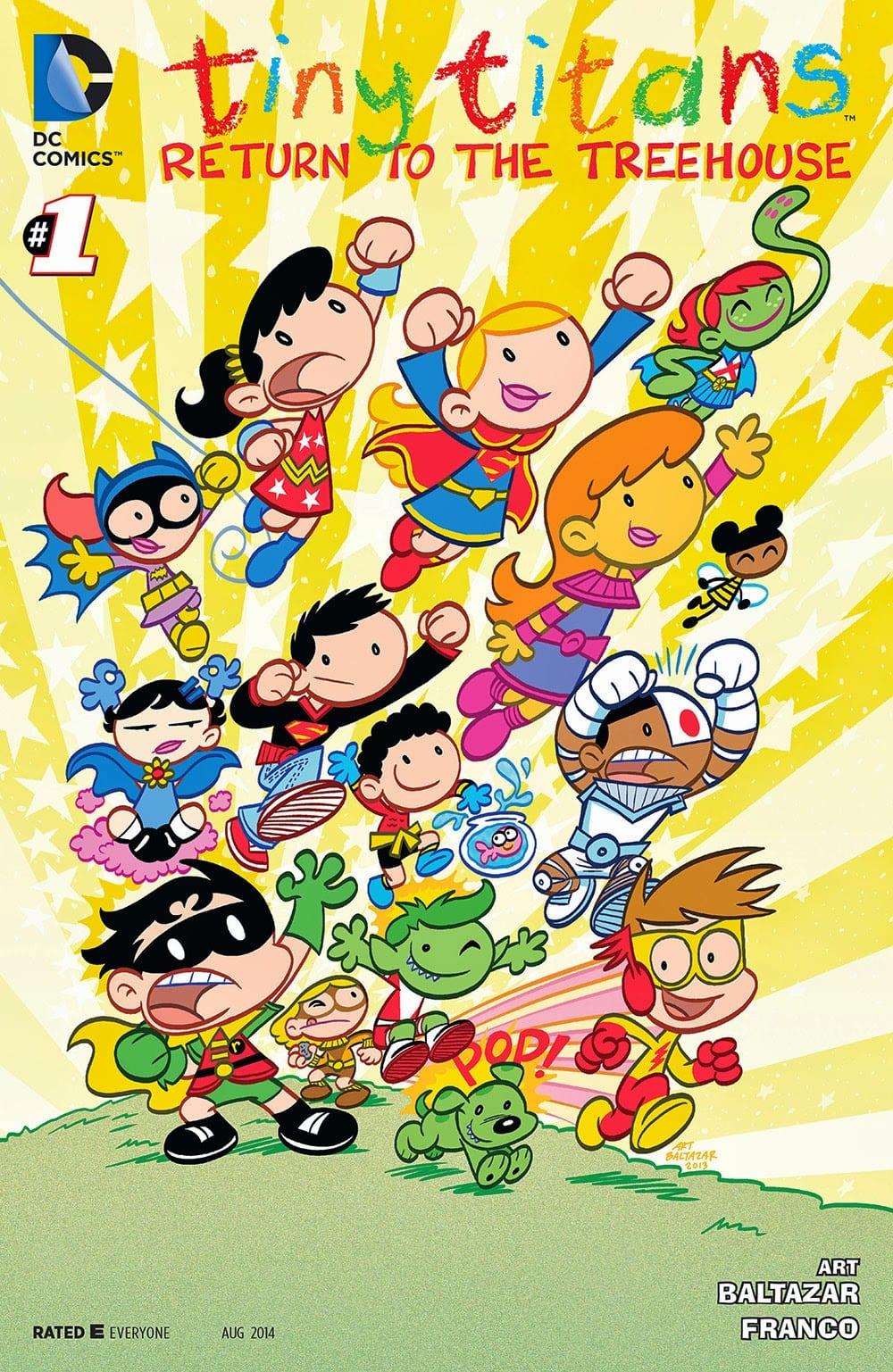 Descargar Tiny Titans comics