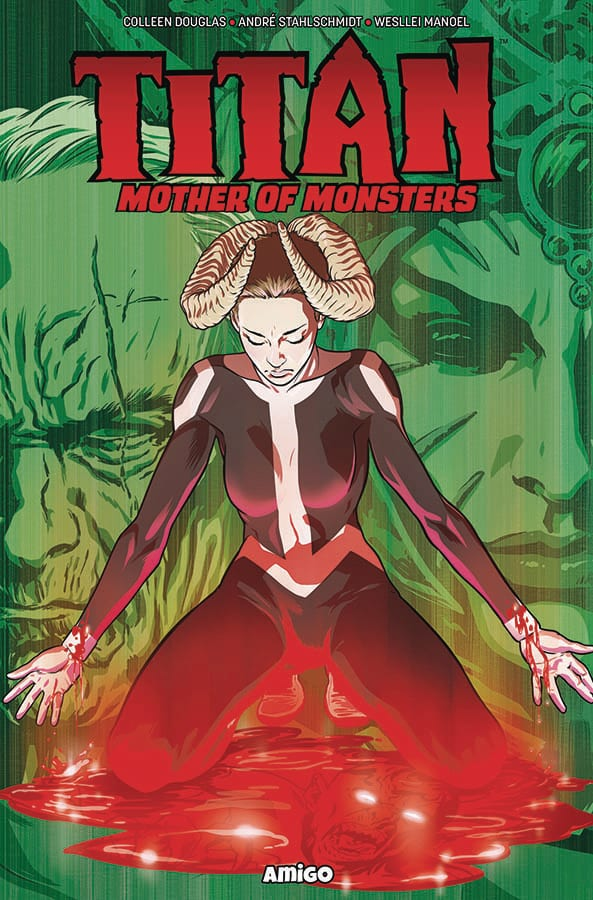 Comic completo Titan: Mother of Monsters