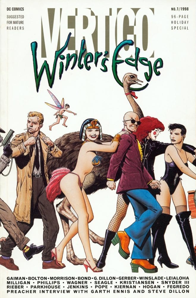 Comic completo Winter's Edge