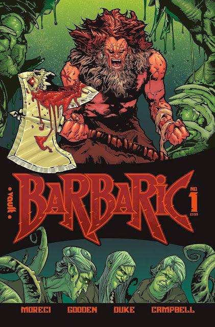 Comic completo Barbaric
