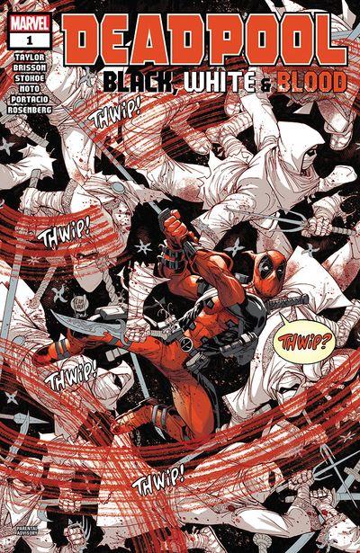 Comic completo Deadpool Black, White & Blood