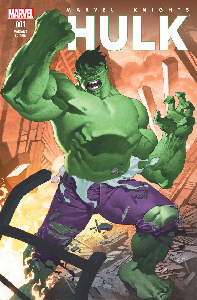 Comic completo Marvel Knight: Hulk
