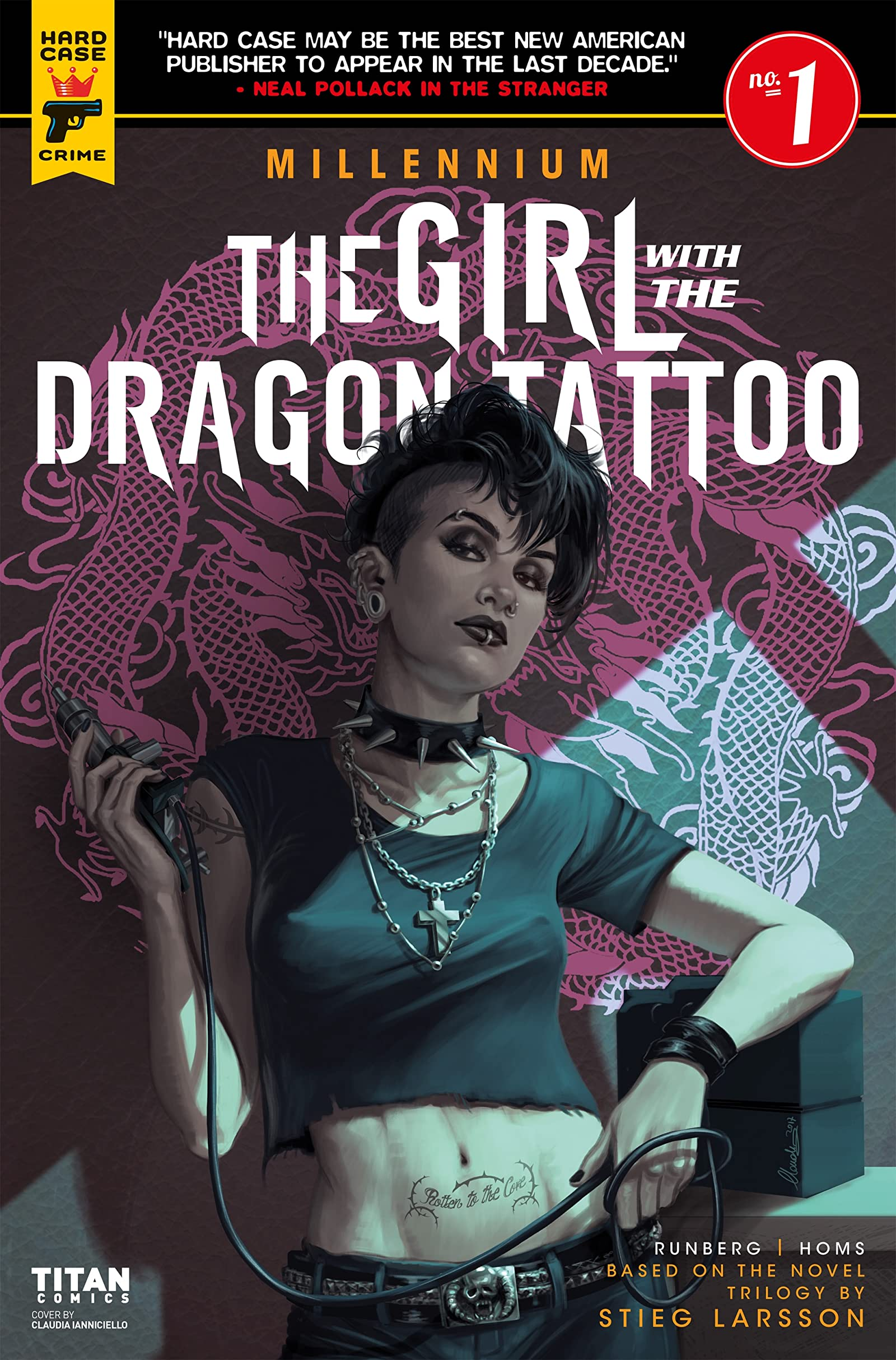 Comic completo Millennium: The Girl With the Dragon Tattoo