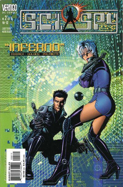 Comic completo S.C.I. SPY