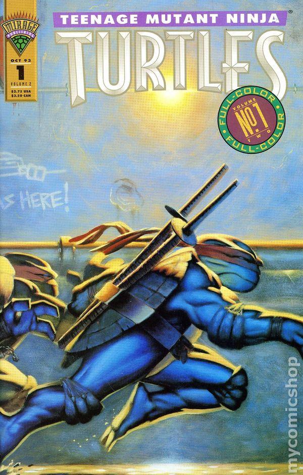 Comic completo Teenage Mutant Ninja Turtles Volume 2
