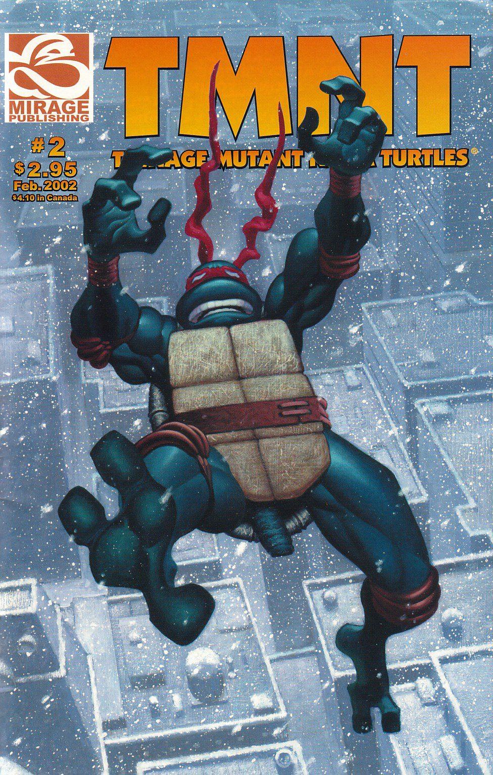 Comic completo Teenage Mutant Ninja Turtles Volumen 4