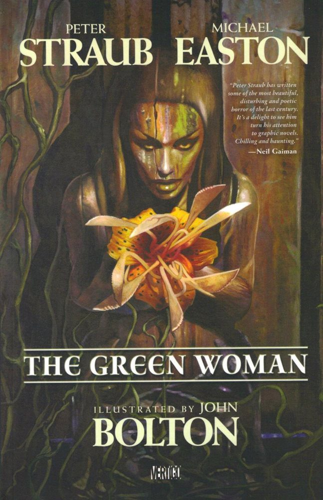 Comic completo The Green Woman