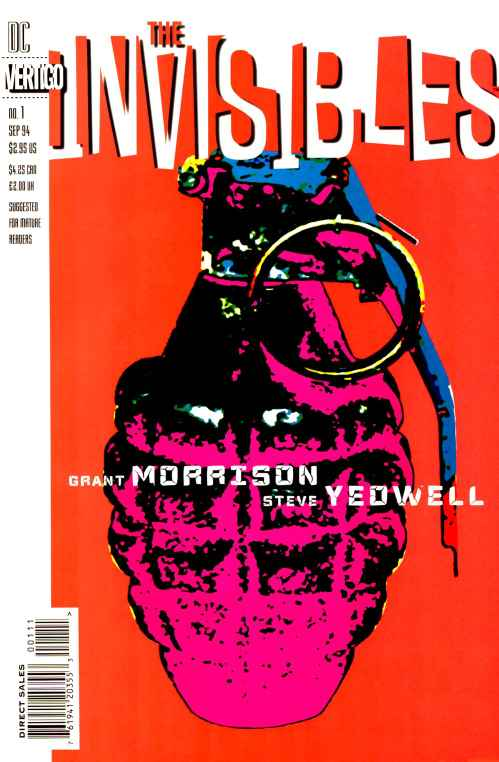 Comic completo The Invisibles volumen 1