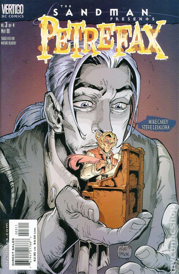 Comic completo The Sandman Presents: Petrefax
