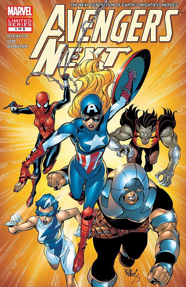 Comic completo Avengers Next