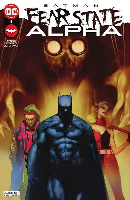 Descargar Batman Fear State Alpha comic