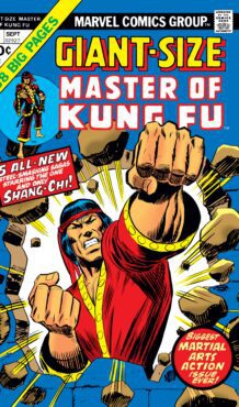 Comic completo Giant-Size Master of Kung Fu